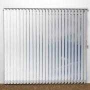 Lamelgardin - LUX Hvid - G1000